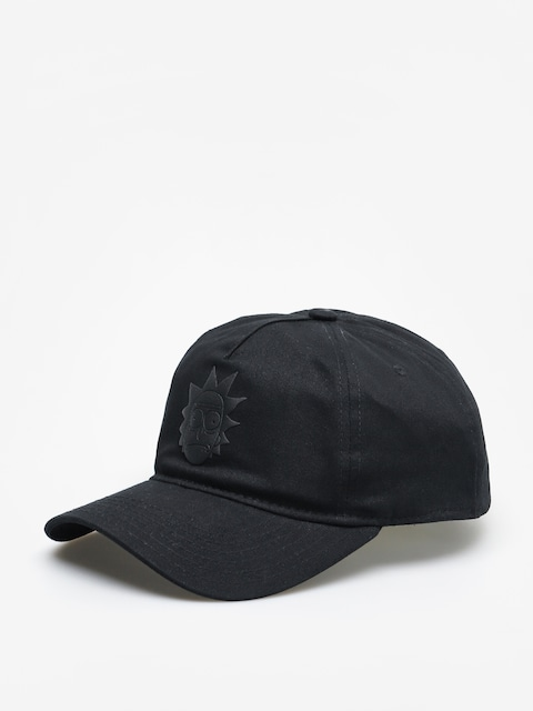 Šiltovka Primitive Rick Puff ZD (black)