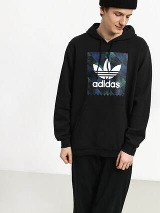 Mikina s kapucňou adidas Towning HD (black/white/actblu/a)