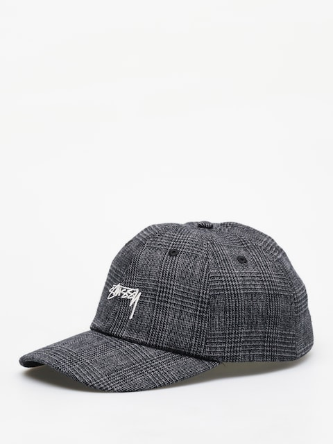 Šiltovka Stussy Glen Plaid Low Pro ZD (black)
