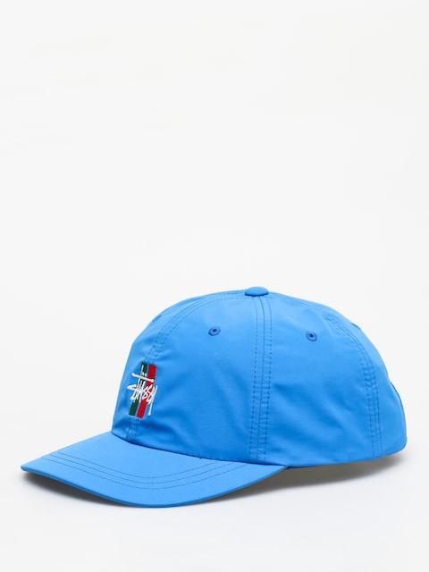 Šiltovka Stussy Bars Logo Low Pro (blue)