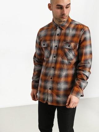 Košeľa Brixton Bowery Lw Flannel (burnt orange)