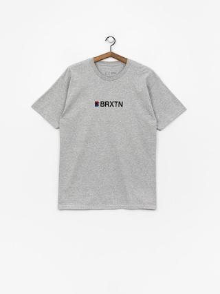 Tričko Brixton Stowell Iv Stt (heather grey)