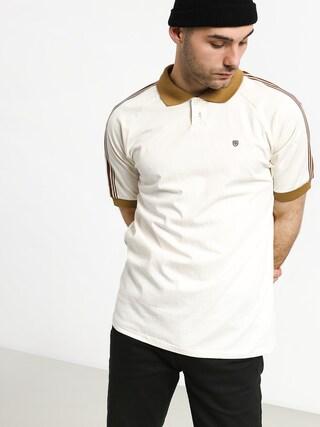 Tričko Polo Brixton tričko Este (cream/khaki)