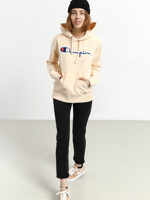 Mikina s kapucňou Champion Hooded Sweatshirt HD Wmn (vnc)