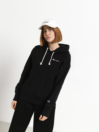 Mikina s kapucňou Champion Premium Reverse Weave Hooded Sweatshirt HD Wmn (nbk)