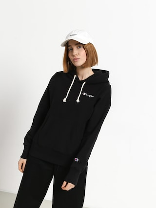 Mikina s kapucu0148ou Champion Premium Reverse Weave Hooded Sweatshirt HD Wmn (nbk)
