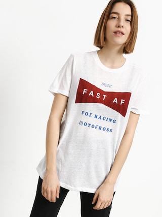 Tričko Fox Fast Af Wmn (wht)