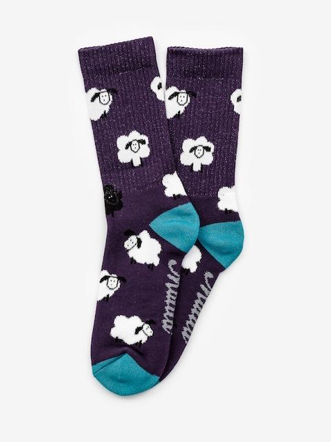 Ponožky Malita Sheep (violet)