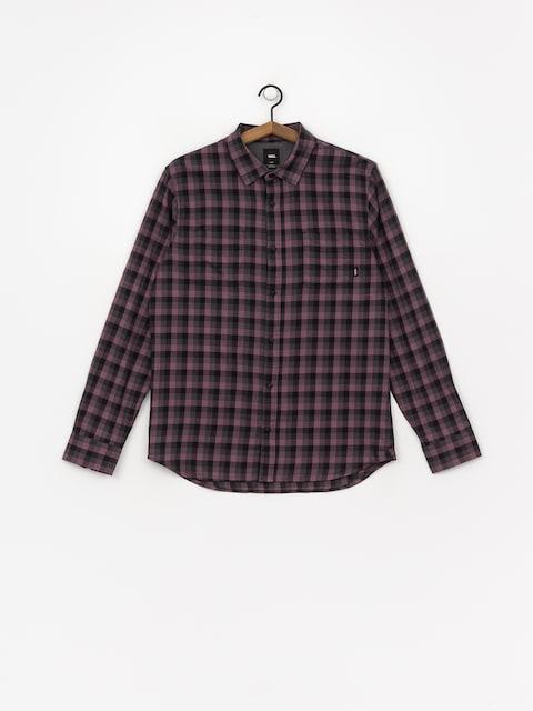 Košeľa Vans Alameda II (black plum/black)