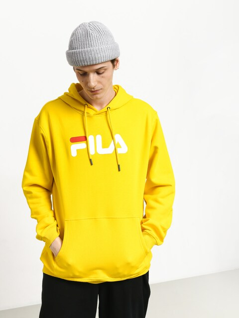 Mikina s kapucňou Fila Pure HD (empire yellow)