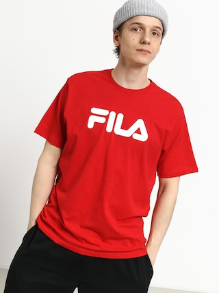 Triu010dko Fila Pure Short Sleeve Shirt (true red)