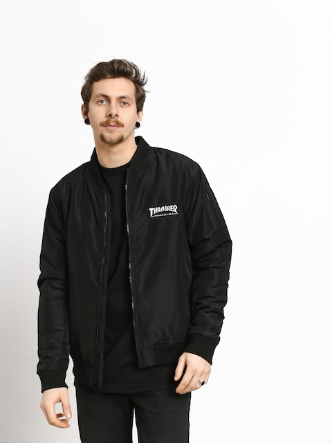 Bunda Thrasher Bomber (black)