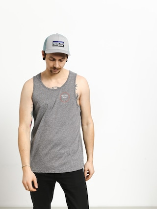 Tričko Brixton Wheeler Tank Top (heather grey/henna)
