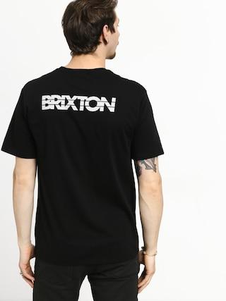 Tričko Brixton Interceptor II Prt (black)
