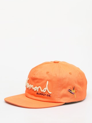 Šiltovka Diamond Supply Co. Og Script ZD (orange)