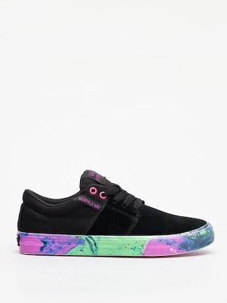 Topánky Supra Stacks Vulc II (black neon acid)