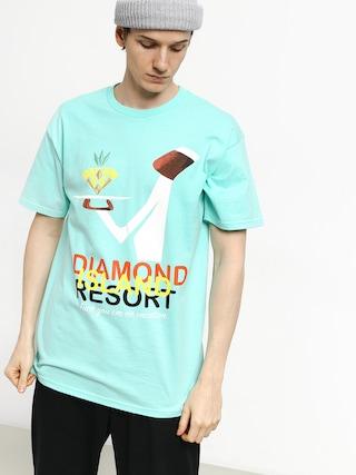 Tričko Diamond Supply Co. Diamond Resort (diamond blue)