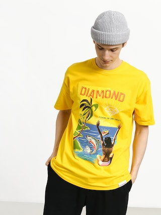 Triu010dko Diamond Supply Co. Fishing For Compliments (yellow)