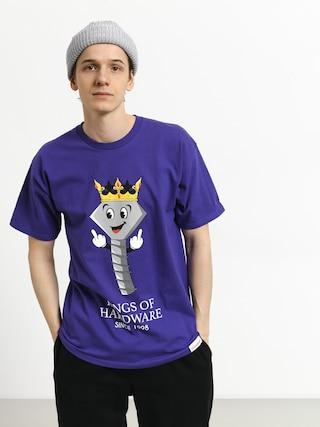 Tričko Diamond Supply Co. King Of Hardware (purple)