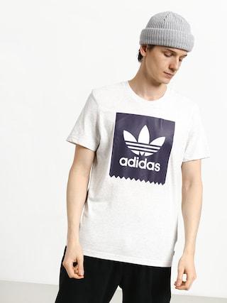 Tričko adidas Solid Bb (palmel/trapur)