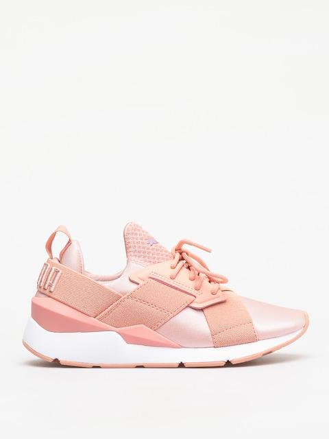 Topánky Puma Muse Satin Ep Wmn (peach bud/peach bud)