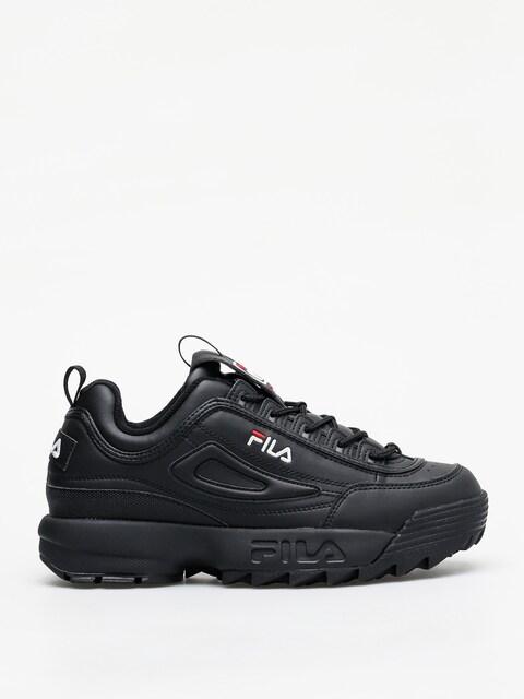 Topánky Fila Disruptor Low (black/black)