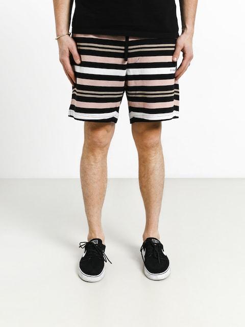 Kraťasy Diamond Supply Co. Marquise Striped Shorts (black)