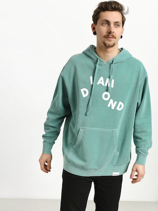 Mikina s kapucňou Diamond Supply Co. I Am HD (mint)
