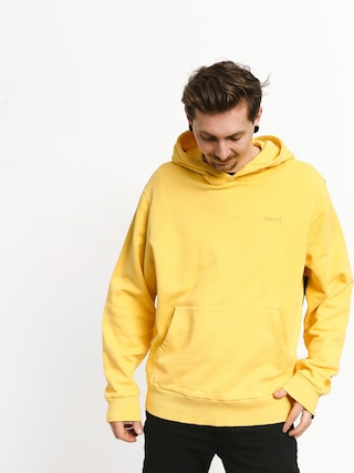 Mikina s kapucňou Diamond Supply Co. Brilliant Overdyed Oversized HD (yellow)