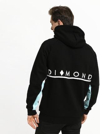 Mikina s kapucňou Diamond Supply Co. Fordham HD (black)