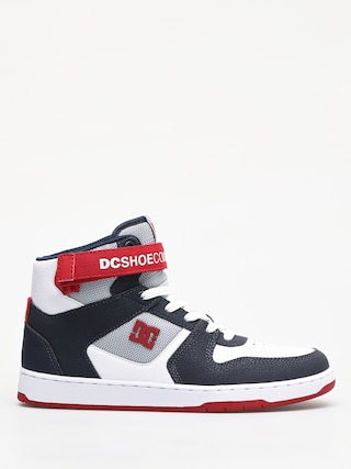 Topánky DC Pensford (white/navy/red)