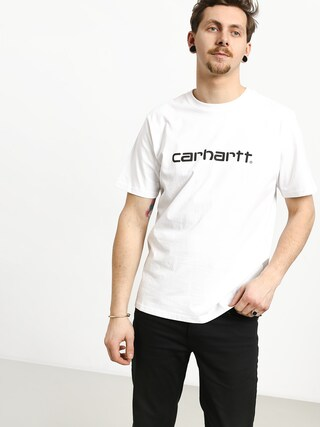 Tričko Carhartt WIP Script (white/black)