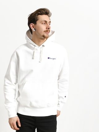 Mikina s kapucňou Champion Reverse Weave Hooded Sweatshirt HD (wht)