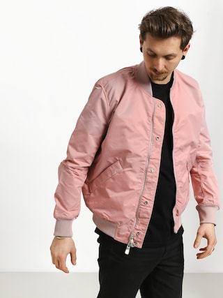 Bunda Diamond Supply Co. Panelled Bomber (pink)