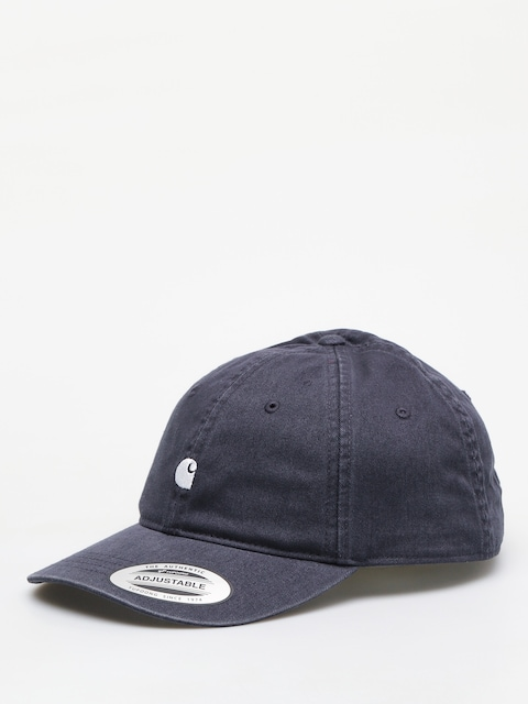 Šiltovka Carhartt WIP Madison Logo ZD (dark navy/white)