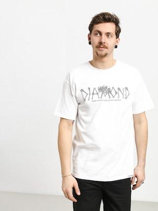 Tričko Diamond Supply Co. Secrets Die (white)