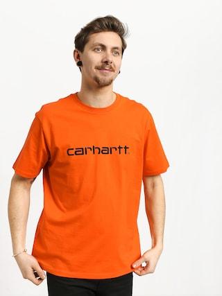 Tričko Carhartt WIP Script (pepper/black)