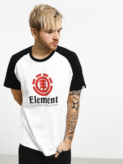 Tričko Element Vertical Raglan (optic white)