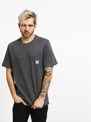 Triu010dko Element Basic Pocket Label (charcoal heather)
