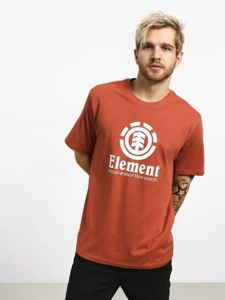 Tričko Element Vertical (etruscan red)