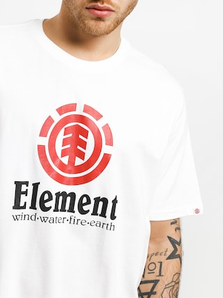 Tričko Element Vertical (optic white)