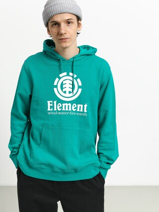 Mikina s kapucňou Element Vertical FT HD (dynasty green)