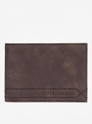 Peňaženka Quiksilver Stitchy (chocolate brown)
