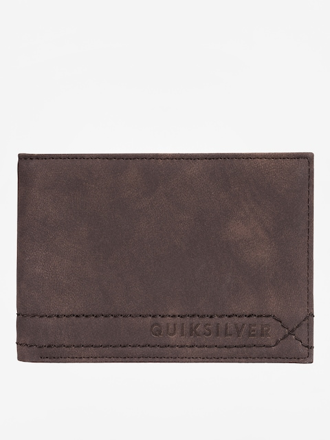 Peňaženka Quiksilver Stitchy (chocolate brown)