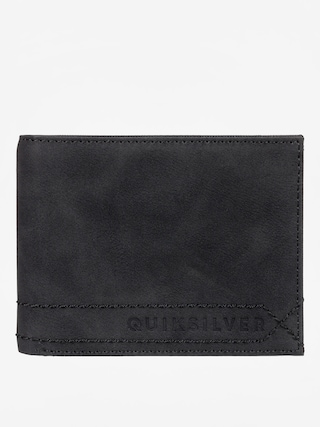 Peňaženka Quiksilver Stitchy (black)