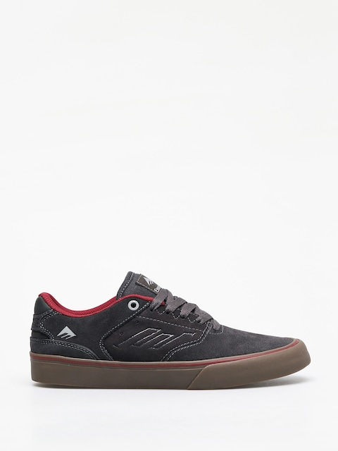 Topánky Emerica The Reynolds Low Vulc (dark grey/grey/red)
