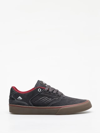 Topu00e1nky Emerica The Reynolds Low Vulc (dark grey/grey/red)