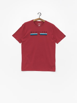 Tričko Quiksilver Get Bizzy (brick red)