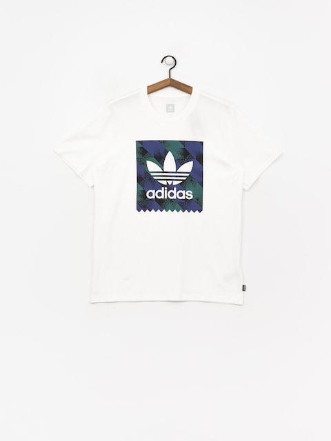 Tričko adidas Towning Bb (white/black/actblu/a)