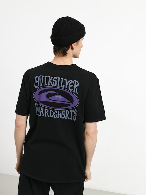 Tričko Quiksilver Cosmic Patient (black)